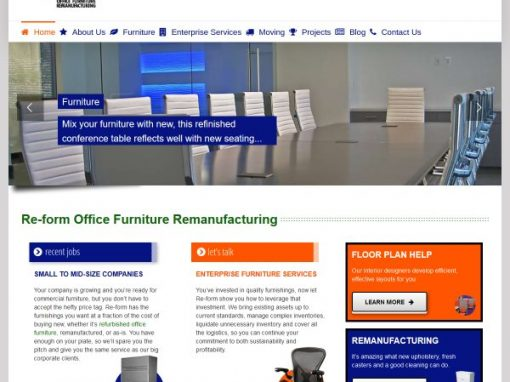 Re-Form Office Furniture Remanufacturing